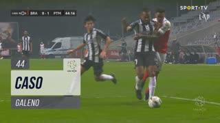 SC Braga, Caso, Galeno aos 44'