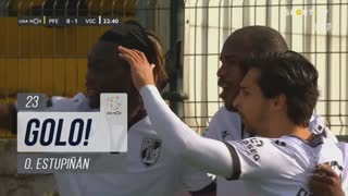 GOLO! Vitória SC, O. Estupiñán aos 23', FC P.Ferreira 0-1 Vitória SC