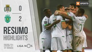 Liga NOS (15ªJ): Resumo Boavista FC 0-2 Sporting CP
