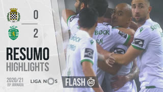 Liga NOS (15ªJ): Resumo Flash Boavista FC 0-2 Sporting CP