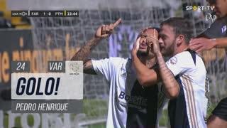 GOLO! SC Farense, Pedro Henrique aos 24', SC Farense 1-0 Portimonense