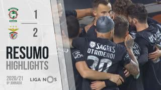 I Liga (8ªJ): Resumo Marítimo M. 1-2 SL Benfica