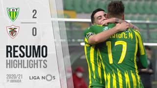 I Liga (7ªJ): Resumo CD Tondela 2-0 Santa Clara