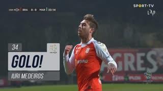 GOLO! SC Braga, Iuri Medeiros aos 34', SC Braga 1-0 Marítimo M.