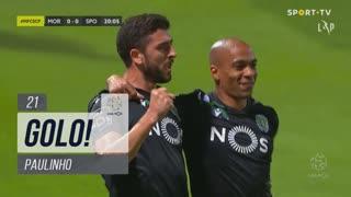 GOLO! Sporting CP, Paulinho aos 21', Moreirense FC 0-1 Sporting CP