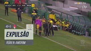 Sporting CP, Caso, Rúben Amorim aos 45'+5'
