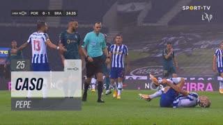 FC Porto, Caso, Pepe aos 25'