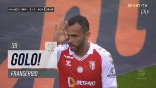GOLO! SC Braga, Fransérgio aos 39', SC Braga 1-1 Boavista FC