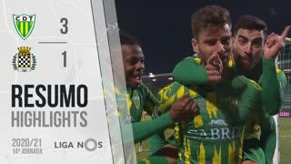 I Liga (14ªJ): Resumo CD Tondela 3-1 Boavista FC