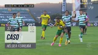 FC P.Ferreira, Caso, Hélder aos 37