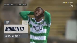Sporting CP, Jogada, Nuno Mendes aos 40'