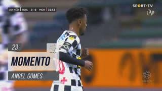 Boavista FC, Jogada, Angel Gomes aos 23'
