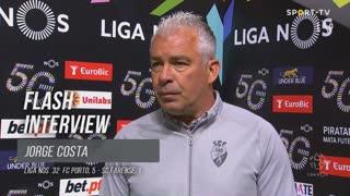 """Jorge Costa: """"O Pepe deve-se ter esquecido quem eu sou"""""""