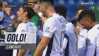 GOLO! FC Famalicão, Lameiras aos 21', FC Famalicão 1-0 Rio Ave FC
