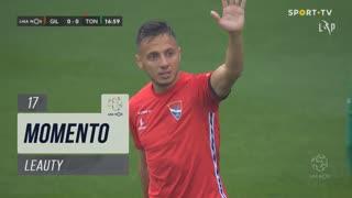 Gil Vicente FC, Jogada, Leauty aos 17'