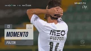 Rio Ave FC, Jogada, Piazon aos 13'
