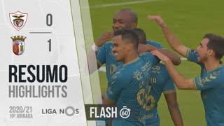 Liga NOS (19ªJ): Resumo Flash Santa Clara 0-1 SC Braga