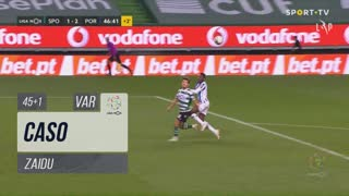 FC Porto, Caso, Zaidu aos 45'+1'