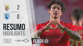 Liga NOS (5ªJ): Resumo Flash SL Benfica 2-0 Belenenses SAD