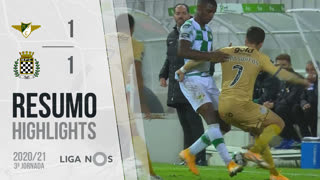 I Liga (3ªJ): Resumo Moreirense FC 1-1 Boavista FC
