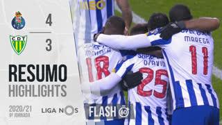 I Liga (9ªJ): Resumo Flash FC Porto 4-3 CD Tondela