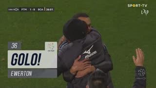 GOLO! Portimonense, Ewerton aos 36', Portimonense 1-0 Boavista FC