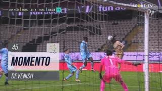Boavista FC, Jogada, Devenish aos 45'