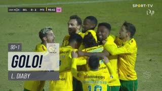 GOLO! FC P.Ferreira, L. Diaby aos 90'+1', Belenenses SAD 0-2 FC P.Ferreira