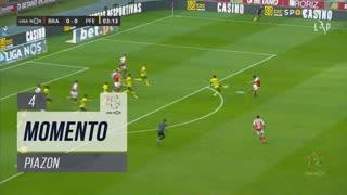 SC Braga, Jogada, Piazon aos 4'