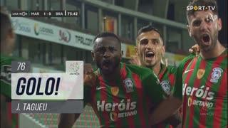 GOLO! Marítimo M., J.Tagueu aos 76', Marítimo M. 1-0 SC Braga