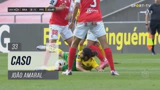 FC P.Ferreira, Caso, João Amaral aos 33'