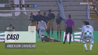 Santa Clara, Caso, Anderson Carvalho aos 45'+1'