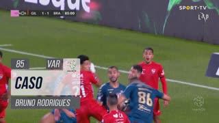 SC Braga, Caso, Bruno Rodrigues aos 85'