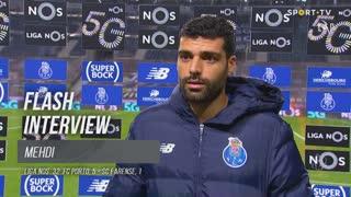 """Mehdi: """"Queremos vencer os dois jogos"""""""