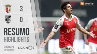 Liga NOS (22ªJ): Resumo SC Braga 3-0 Vitória SC