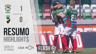 I Liga (26ªJ): Resumo Flash Marítimo M. 1-0 SC Farense
