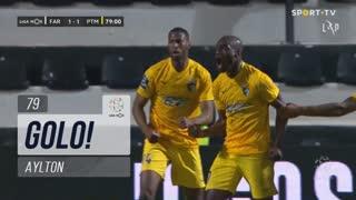 GOLO! Portimonense, Aylton aos 79', SC Farense 1-1 Portimonense