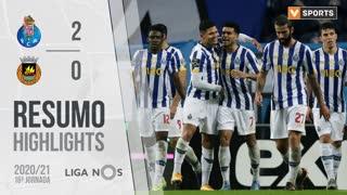 Liga NOS (16ªJ): Resumo FC Porto 2-0 Rio Ave FC