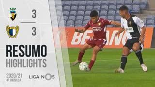 Liga NOS (4ªJ): Resumo SC Farense 3-3 FC Famalicão