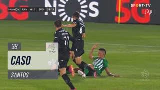 Rio Ave FC, Caso, Santos aos 38'