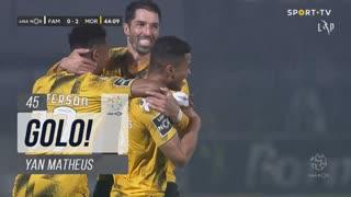 GOLO! Moreirense FC, Yan Matheus aos 45', FC Famalicão 0-2 Moreirense FC