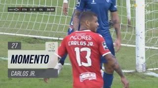 Santa Clara, Jogada, Carlos Jr. aos 27'