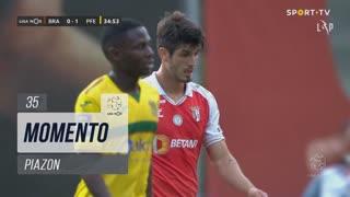 SC Braga, Jogada, Piazon aos 35'