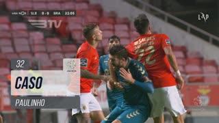 SC Braga, Caso, Paulinho aos 32'