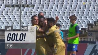 GOLO! Boavista FC, Elis aos 59', Belenenses SAD 0-2 Boavista FC