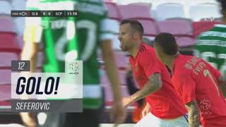 GOLO! SL Benfica, Seferovic aos 12', SL Benfica 1-0 Sporting CP