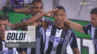 GOLO! Portimonense, Fabricio aos 52', Portimonense 1-1 FC P.Ferreira