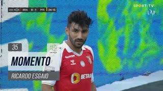 SC Braga, Jogada, Ricardo Esgaio aos 35'