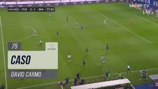 SC Braga, Caso, David Carmo aos 79'