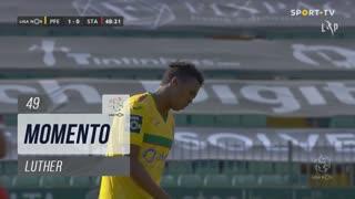 FC P.Ferreira, Jogada, Luther aos 49'